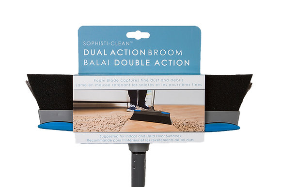 Sophisti-Clean Dual Action Broom