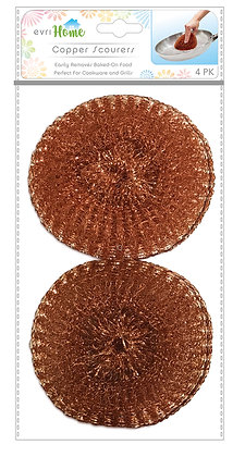 Copper Scourers 4pk