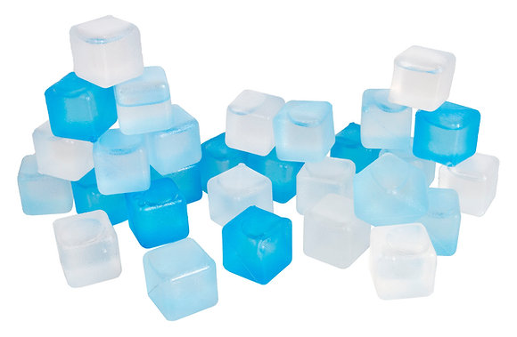 Cool Cubez 30pk Reusable Freezer Ice Cubes
