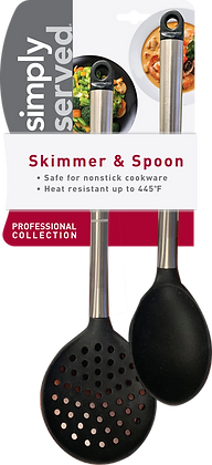 Simply Served Professional Collection Skimmer & Spoon
