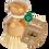 Thumbnail: Bamboo Naturals Coconut Fiber Palm Brush