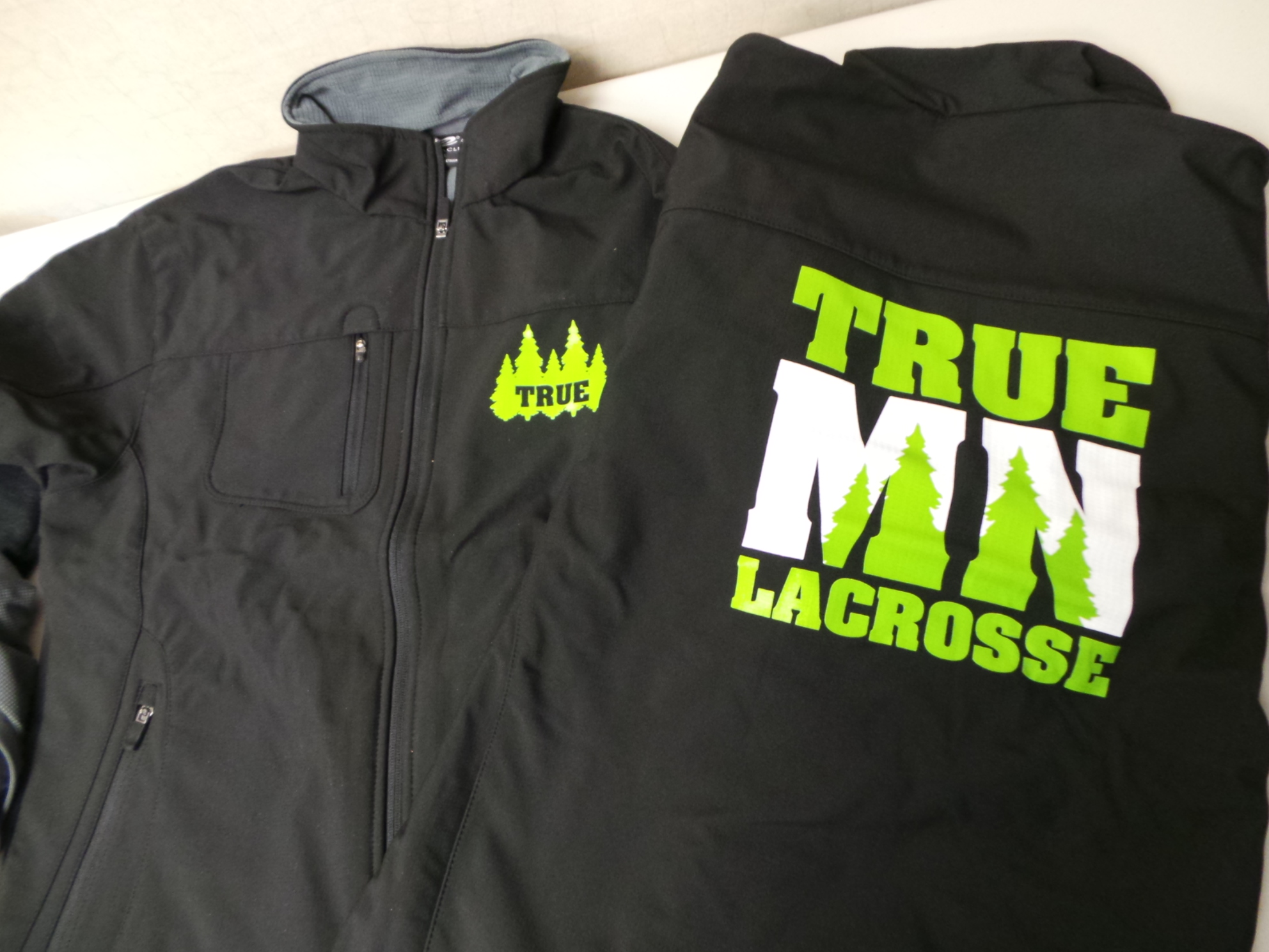 True MN Lacrosse Jackets