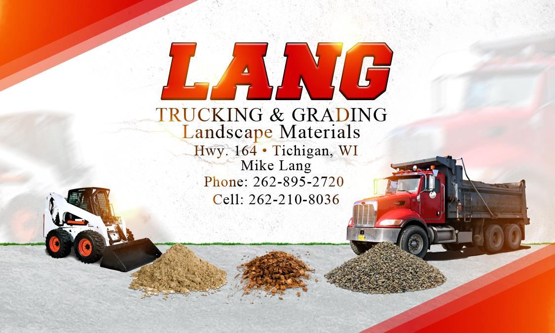 Lang Trucking Card