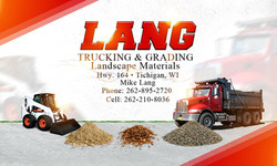 Lang Trucking Card