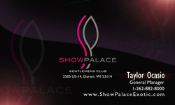 Showpalace Card