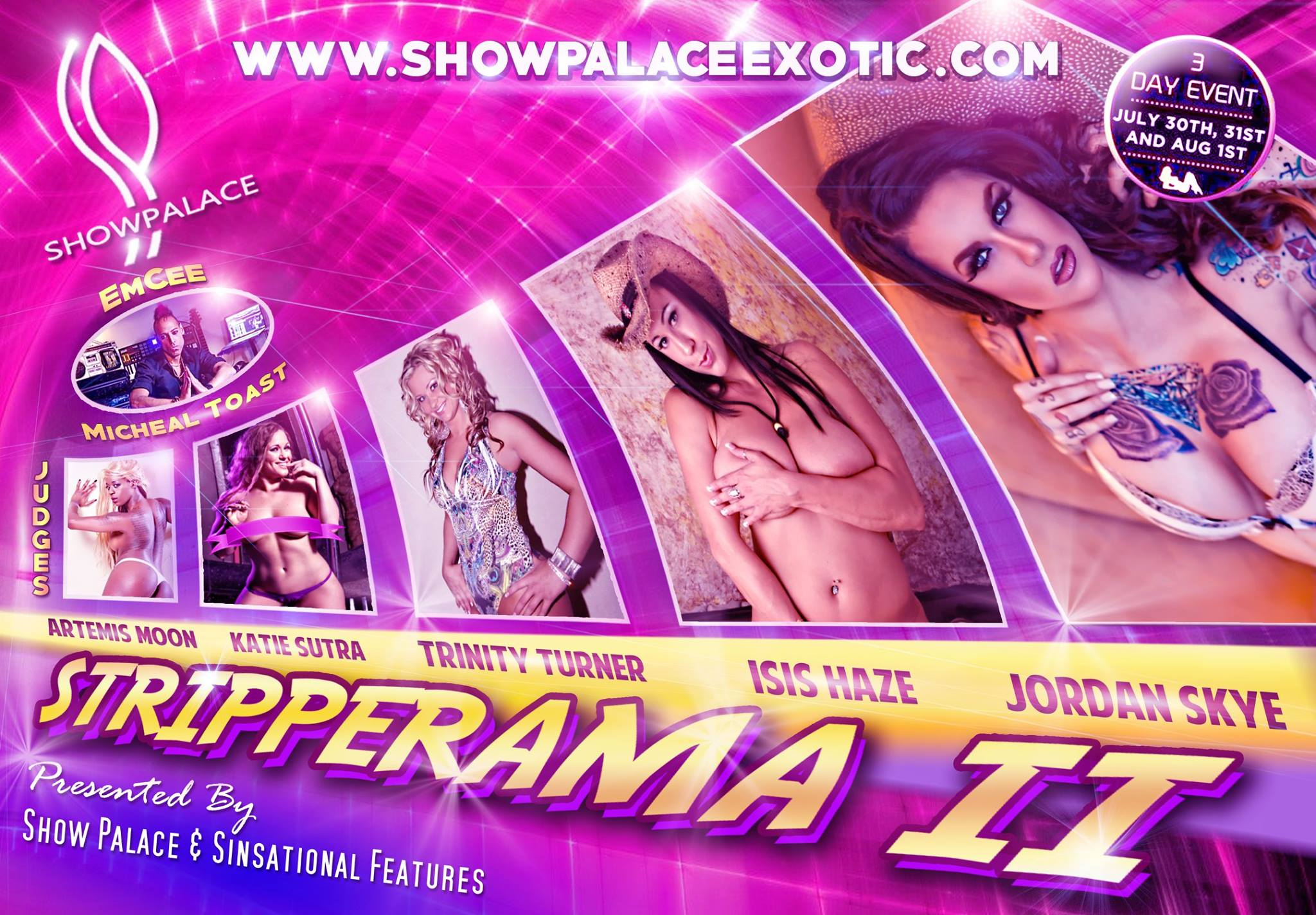 Stripper Rama Flyer
