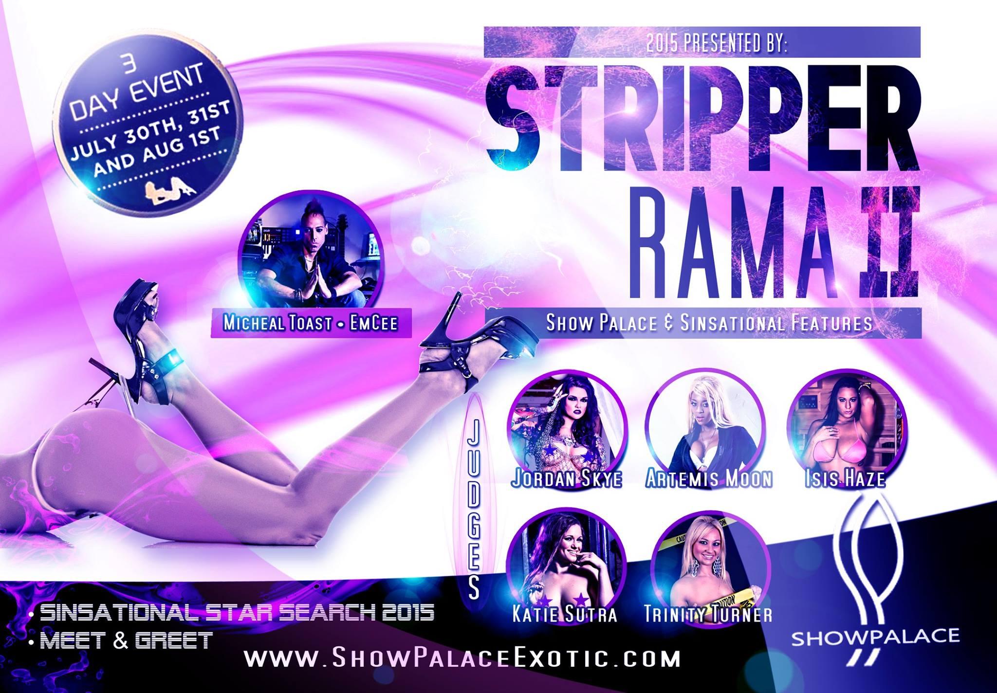 Stripper Rama II Flyer