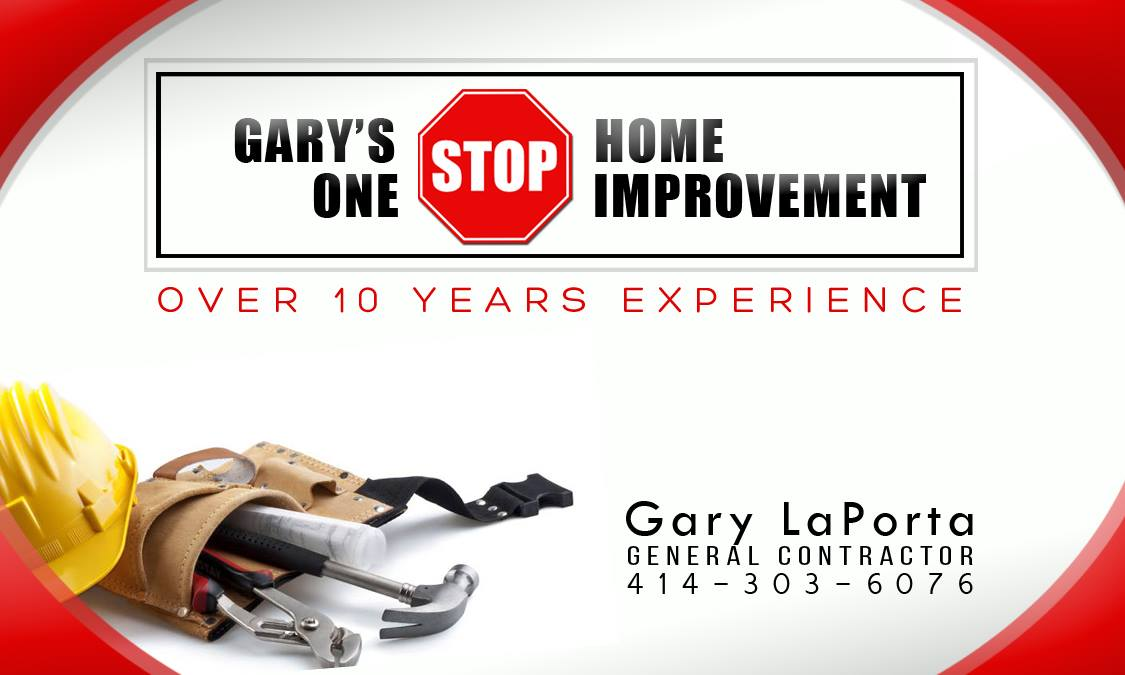 Gary's One Stop Card