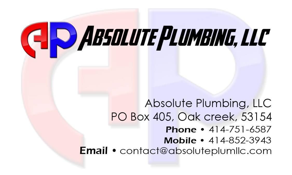 Absolute Plumbing Card
