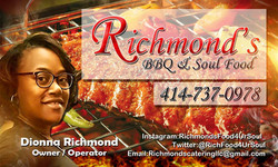 Richmond's BBQ Card