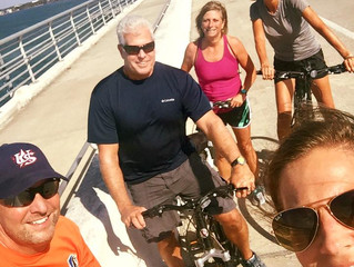 Sarasota is great for cycling!!