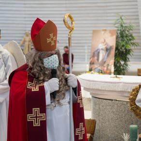 Svätý Mikuláš u svätého Františka