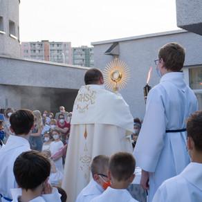Slávnosť Najsvätejšieho Kristovho Tela a Krvi v Bratislave