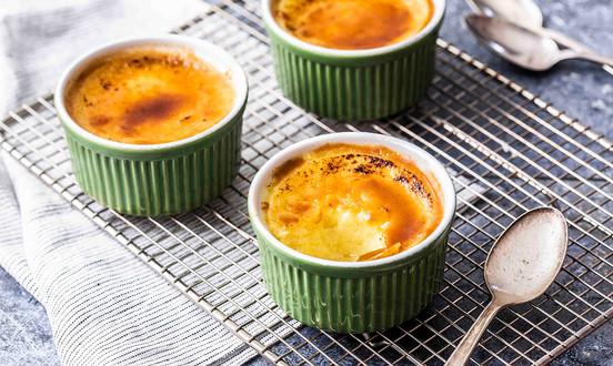Vanilla Crème Brûlée for Keto-Mojo
