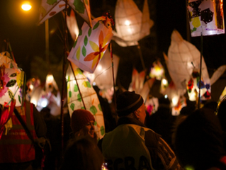 The Lantern Parade! A celebration of community!