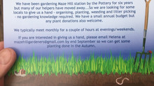 Maze Hill Station - Volunteer Gardeners Wanted