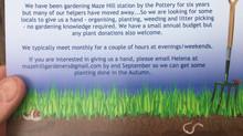 Maze Hill Station - Volunteer Gardeners Wanted