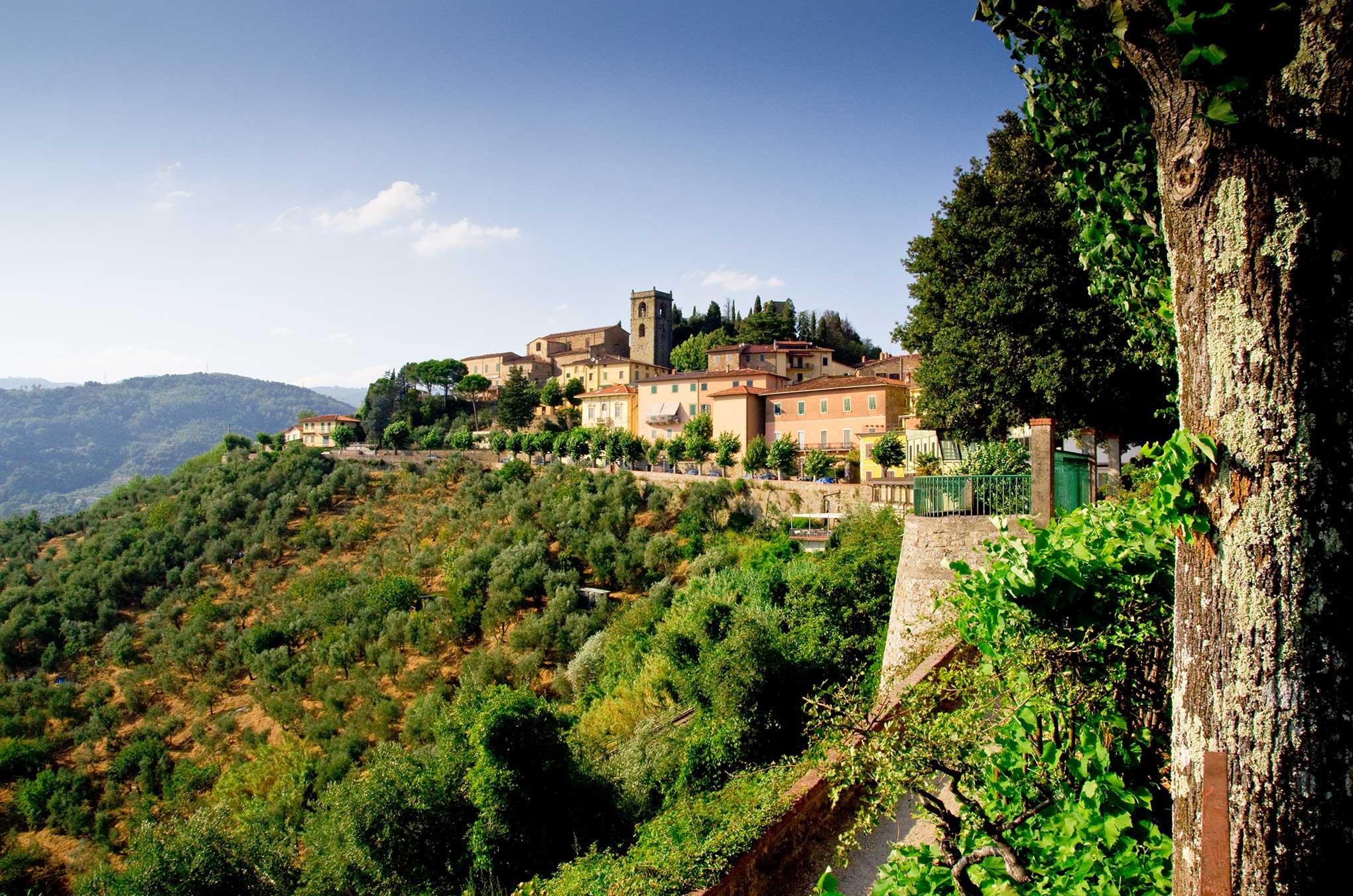 Italy Tuscany Montecatini Alto
