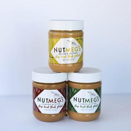 Nut Butter Trifecta- 3 pack