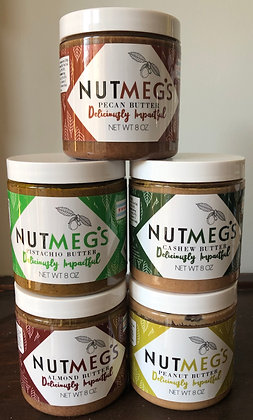 All Five Nut Butters!