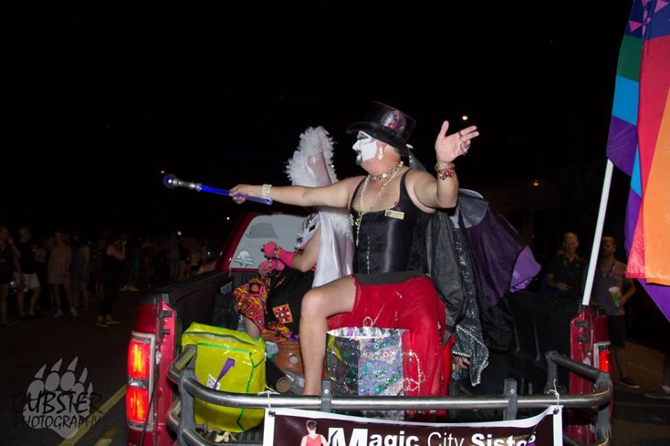 Sisters at Pride Parade 6