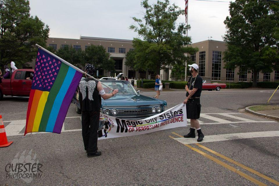 Sister at Pride Parade 2
