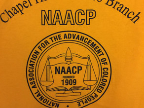 Get Your Chapel Hill Carrboro NAACP T-Shirt Today!