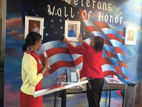 Region 8 Director Honored at Wall of Honor
