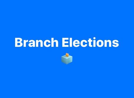 Branch Elections Notice