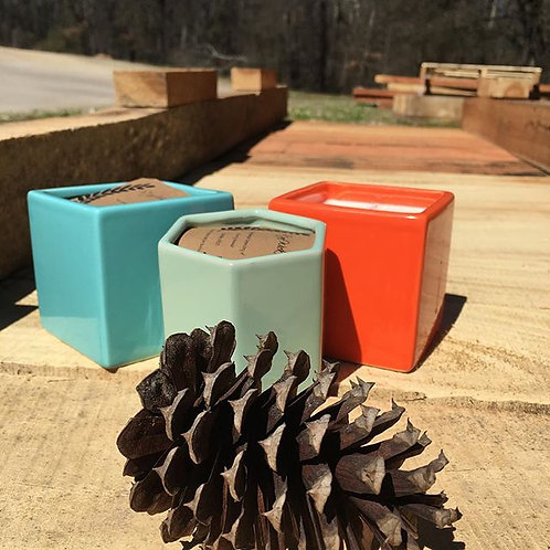 Ceramic Jar Candles