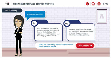 Meet the guide ICH E6 (R2) Clinical Trial Study Risk Assessment and Control e-learning training course Risk Based Monitoring Risk-Based Quality Management