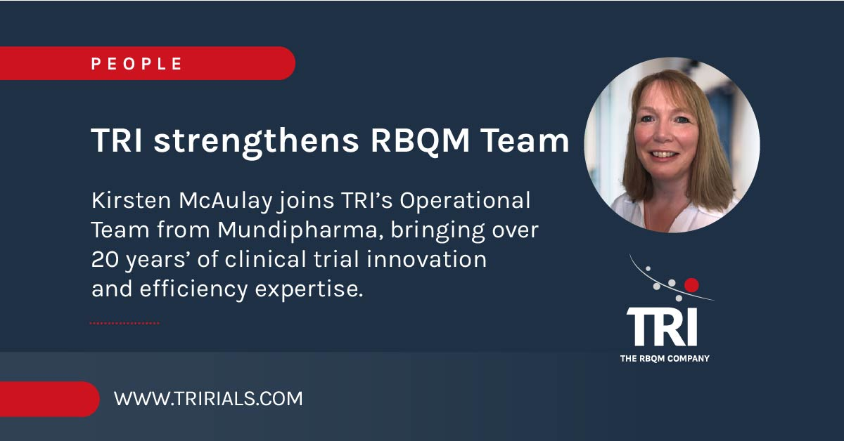 TRI strengthen RBQM team