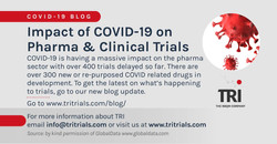 Latest news on how COVID-19 is affecting clinical trials