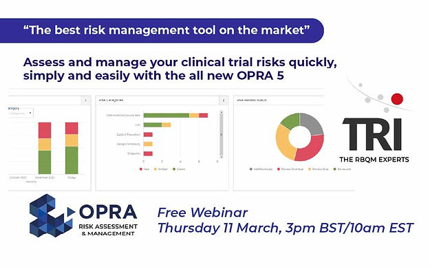 OPRA 5 - Risk Assessment and Management (RAM) demo - 11 March