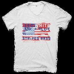 USA American Flag patriotic Fish
