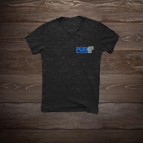 Pure Impact Tee Shirt Left Chest
