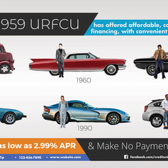 Custom Auto Loan Ad for Bank or Credit Union