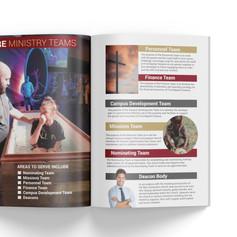 FBC Owasso Engage Brochure Newsletter Design