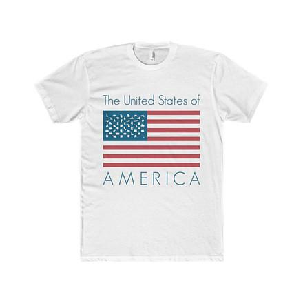 American Flag Tshirt Design