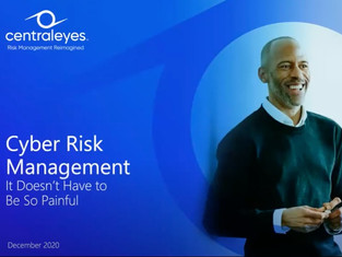Flash Webinar: Cyber Risk Management - it Doesn't Have to Be So Painful