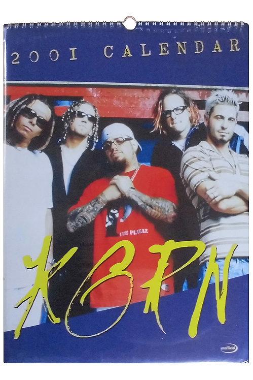 Kalender - Korn 2001