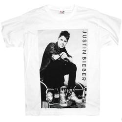T-Shirt Justin Bieber Potrait