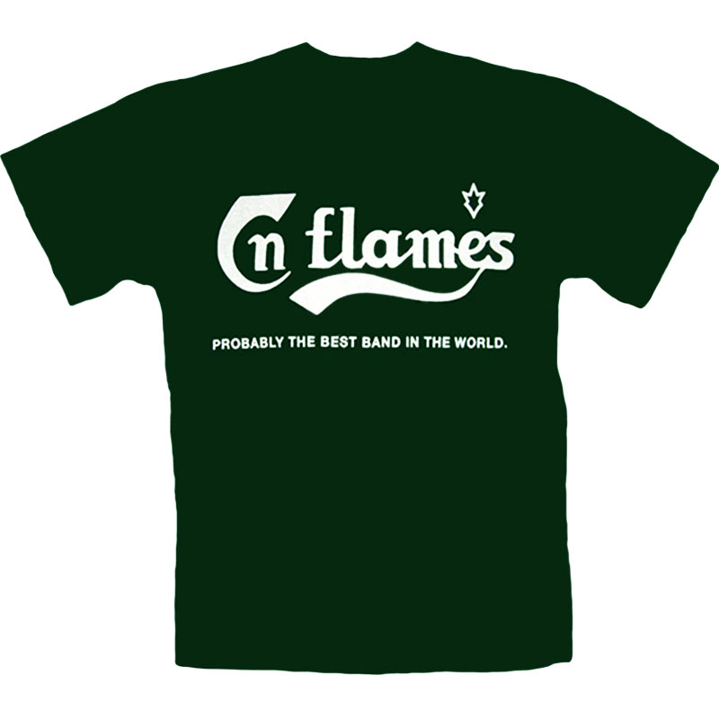 T-Shirt_In_Flames_Grön