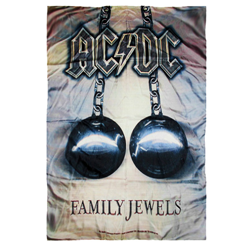 Posterflagga AC DC - Family Jewels