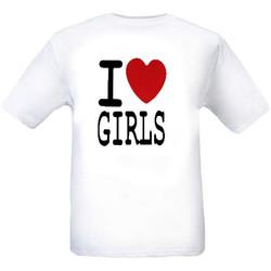 T-Shirt I Love Girls