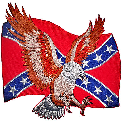 Rebel Flag With Eagle