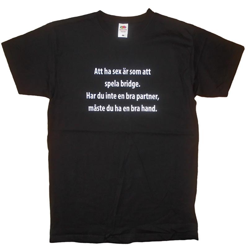 T-Shirt Att Ha Sex