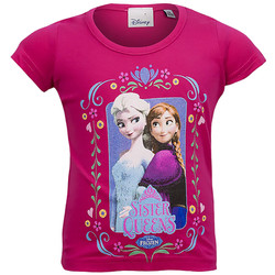 Barn_T-Shirt-frozen_Röd