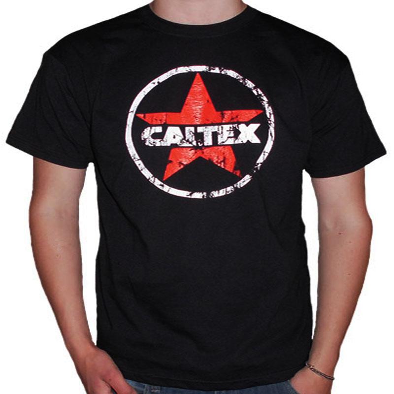 T-Shirt Caltex Svart