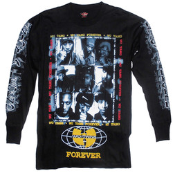 T-Shirt Långärmad Wu-Tang Fram